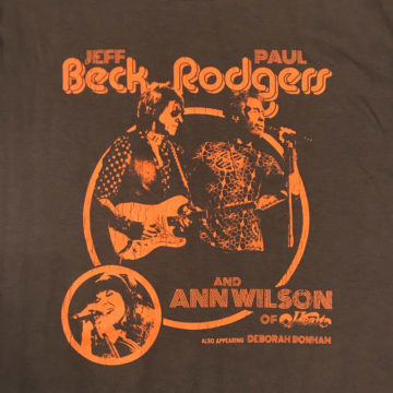 Jeff Beck Paul Rodgers Ann Wilson Deborah Bonham T-Shirt