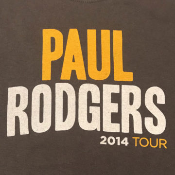 Paul Rodgers 2014 Tour