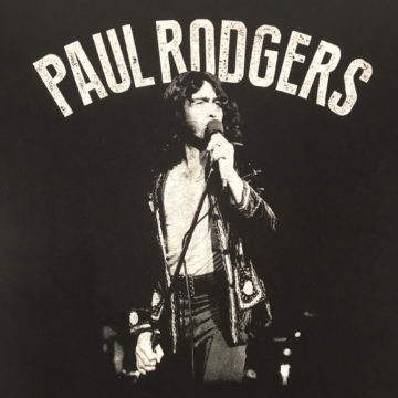 Paul Rodgers T-Shirt Front