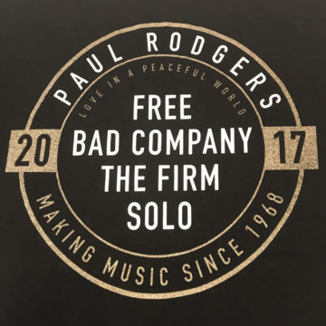Making Music Since 1968 Paul Rodgers Free Bad Company The Firm