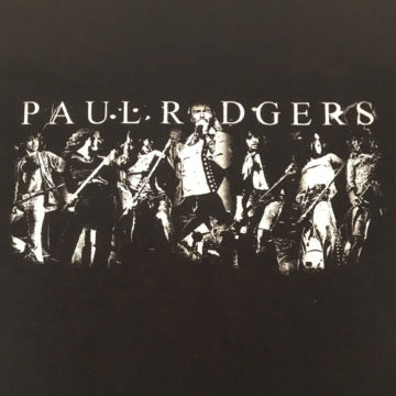 Paul Rodgers Montage T-shirt Front